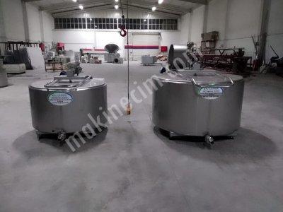 1000 Lt Süt Soğutma Tankı Kantarlı