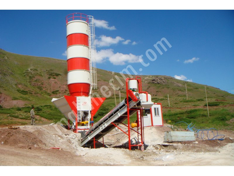 60 M3 H Capacity Economic System Concrete Plant For Sale