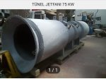 Tünel Jetfanı 75 Kw