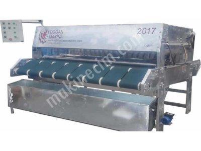 8 Fırçalı Otomatik Halı Yıkama Makinası (Galvaniz)