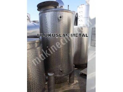 Paslanmaz Vakumlu Basınc Tankı 2. El Üst Menhol Kapak Civatalı Sistem,