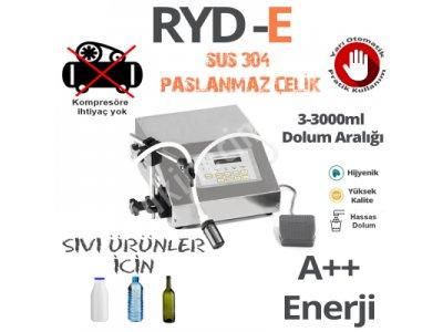 Elektronik Sıvı Dolum Makinası 3-3000 Ml  ( İthal Ürün)