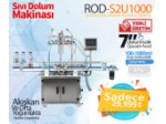 Renas Rod-S2U1000 Çift Nozullu Tam Otomatik Sıvı Dolum Makinası