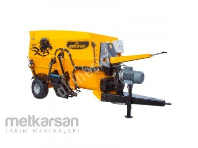 Yatay Yem Karma Makinesi - 4M³