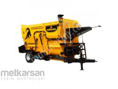 Yatay Yem Karma Makinesi - 5M³