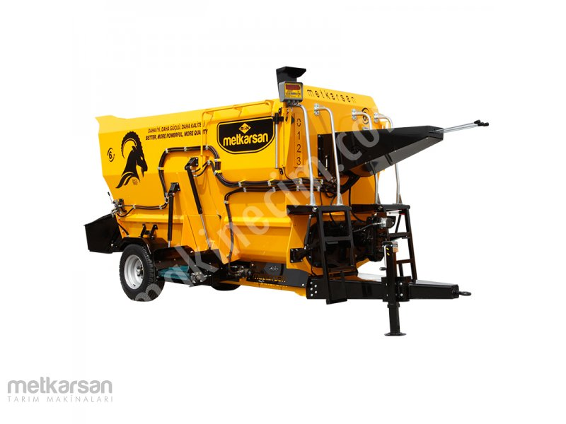 Feed Mixer Wagon - 6m³ For Sale New Price : Ask For Price Konya
