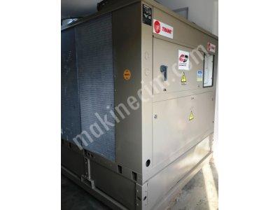 Satılık 2.el 325 Kw= 280.000 Kcal/h Trane Marka Çok Az Kullanılmış Orjinal Chiller