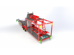 Silage and sugar beet pulp packing machine