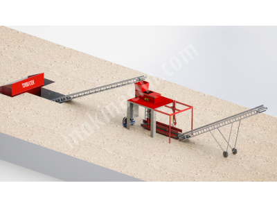 Silaj ve küspe paketleme - TK TEKLİ SABİT MODÜLER - Vacuum silage packing machine