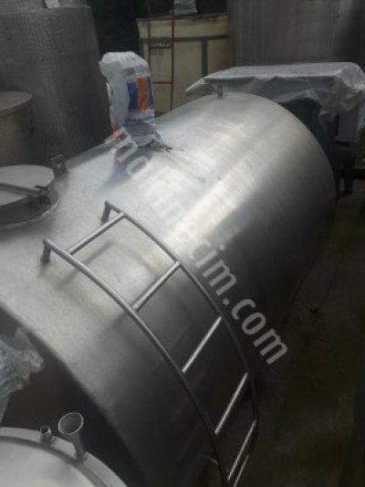 Süt Soğutma 5000Lt Kromak Marka -Süt Tankı-Soğutucu-Depo-İzoleli Tank-
