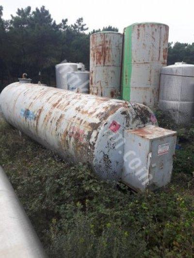Mazot Tankı 30Ton 2El-Çıkma-Demir Yakıt Deposu-Sayaçlı-Pompalı