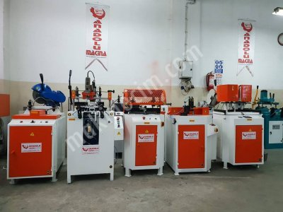 Pvc Makinaları Anadolu Makinadan 5 Li Set Turuncu