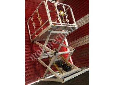 Personel - Batar Kat -Yük Taşıma- Engelli Asansörü Yük İstif Makinası