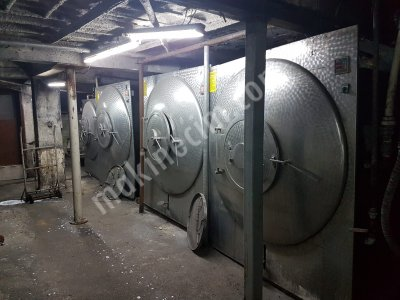 Satılık Tekstil Yıkama Ve Boyama Makineleri