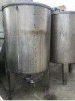 2.el Paslanmaz Krom Karıştırıcı Mikser Tank 2.000Litrelik