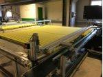 Sünger Üretim Şeritleme, Oluk Açma, Dilimleme Otomasyon Makinası