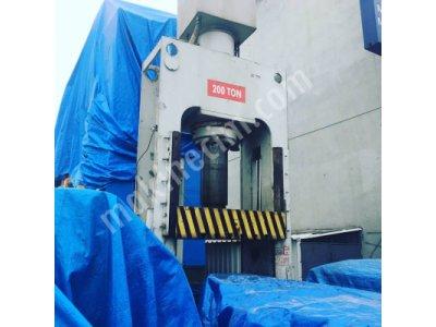 200 Ton Hidrolik Pres