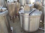 Süt Kaynatma Kazanı ,cidarlı Süt Pişirme Karıştırıcı 300Kg