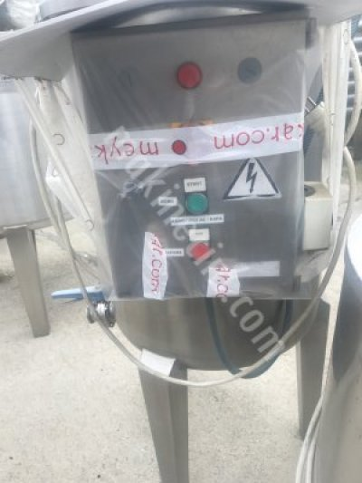 250 Litre Sıvı Karıştırıcı Makine Mikser 316 Krom