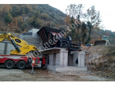 Stoktan Hemen Teslim 140Lık Çeneli Kırıcı Tesisi /m-K Makina/