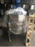2.el 350Litrelik Paslanmaz Karıştırıcı Kanatlı Sıvı Malzeme