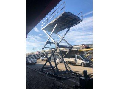 Araç Kaldırma Platformu- Araç Asansörü- Özel Üretim
