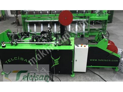 Spiral Wire Mesh Machine