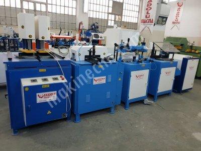 Pvc Makinaları 5 Li Set Anadolu Makinadan Mavi