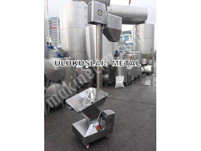 2.el Helezon Toz Besleme Toz Tasıma Makinesi Elekli Un Ve Toz Olan Hersey Taşıma Helezonu
