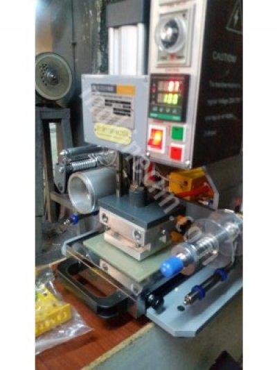 8 Cm X11 Cm   Otomatik  Marka-Klişe-Transfer Baskı Masa Üstü Sıcak   Klişe Varak  Baskı  İndimde...l