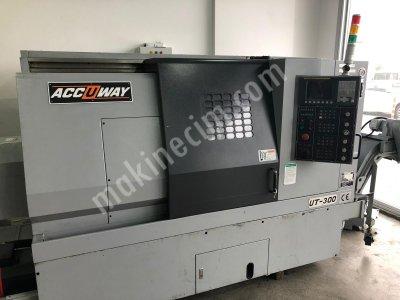 Accuway Ut-300 Cnc Torna Tezgahı