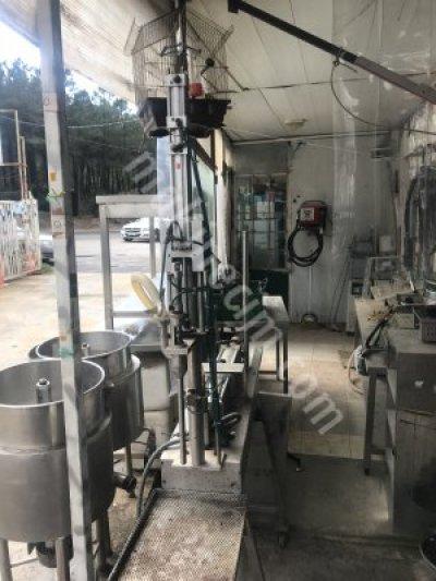 Krem Dolum Makinesi Sıvı Dolum Makinesi Satılık 2.el