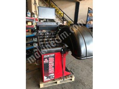 Hunter Balans Makinası 9700 Yol Testli Rulolu