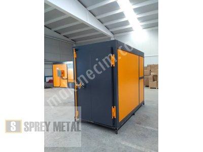 Box Tipi Fırın (Elektrostatik Toz Boya Fırını)