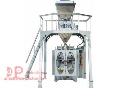 Dev5000 Trp Dikey Ambalaj Paketleme Makinası /