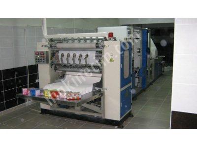 Kutu Mendil Ve V Katlama Havlu Makinesi