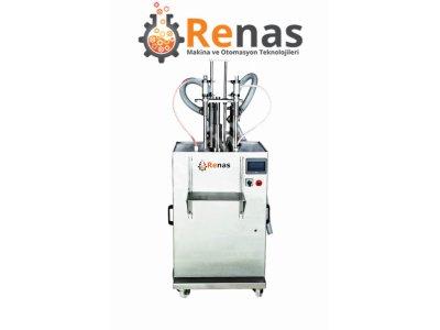 Renas Dipten Dolum Sistemli Sıvı Dolum Makinası 100-1000 Ml