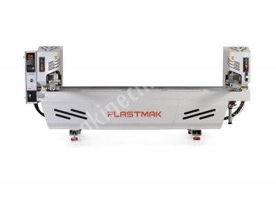 2019 Çift Köşe Kaynak Makinası Plastmak