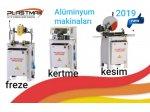 2019 Alüminyum İşleme Set / Freze-Kertme-Kesim Plastmak