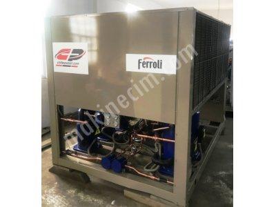 Satılık 2.el 325 Kw= 280.000 Kcal/h Ferroli Marka Chiller Soğutma Grubu