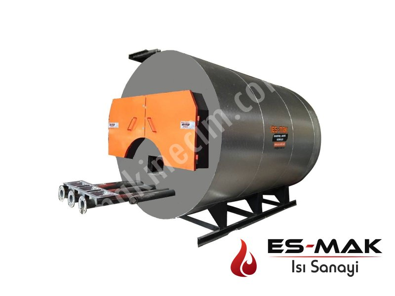 Solid-liquid-gas Fuel Steam Boiler ( Complete)
