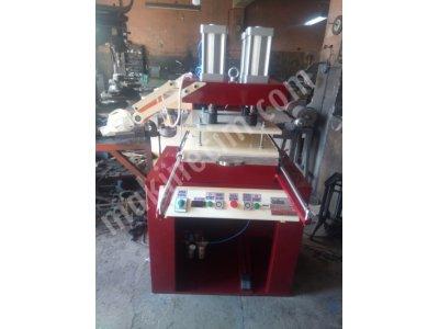 Sıcak Klişe Yaldız Gofre Varak Baskı Makinesi