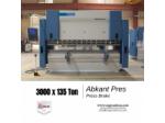 Abkant Pres 3000 X 135 Ton