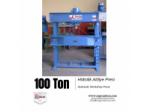 Kollu Motorlu Gezer Kafalı Hidrolik Atölye Presi - 100 Ton