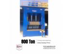 Derin Çekme Hidrolik Pres - 800 Ton H Tipi - Linda Machine Marka