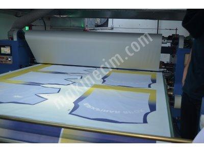 Parça Metraj Transfer Baskı Makinası Tm-1800 / Tc-320