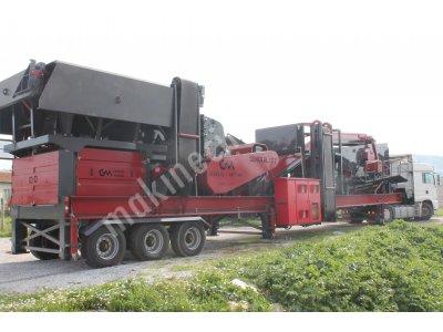 180-250 T/S MOBİL SERT TAŞ KIRMA ELEME TESİSİ