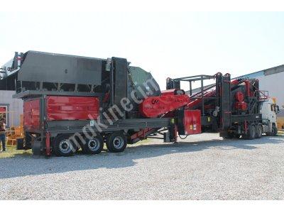 250-350 T/S MOBİL SERT TAŞ KIRMA ELEME TESİSİ