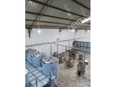 Sabun, Deterjan, Sampuan,çamasır Suyu,alkol Vb. Kımyasal Ürünler Içın Mıkserler Ve Depolama Tankları