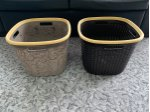 2 Different Model Square Laundry Basket